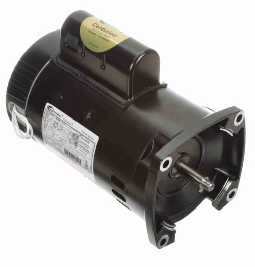 B2853V1 Century 1 hp 3450 RPM 56Y Frame 115/230V Square Flange Pool Motor