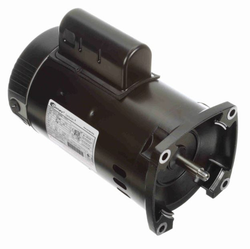 B2854V1 Century 1.5 hp 3450 RPM 56Y Frame 115/230V Square Flange Pool Motor