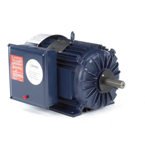 5 hp 1800 RPM 215TZ Frame (Farm Duty) 230V Century Electric Motor # K300M2
