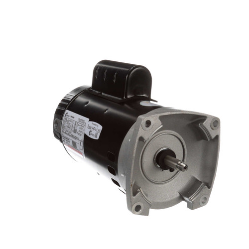 1 hp 2-Speed 56Y Frame 230V Square Flange Pool Motor Century # B2982