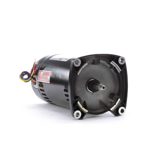 1 hp 3450 RPM 48Y Frame 208-230/460V Square Flange Pool Motor # Q3102