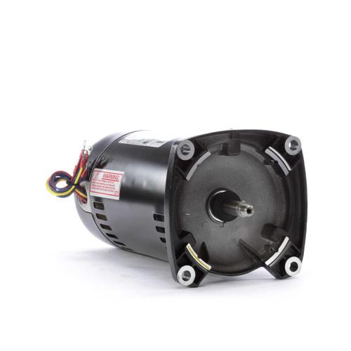Q3102 Century 1 hp 3450 RPM 48Y Frame 208-230/460V Square Flange Pool Motor # Q3102