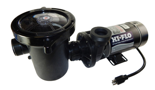 1 hp 2-Speed 3450/1725 RPM, 115V Above Ground Pool Pump - Waterway # PH2100-6