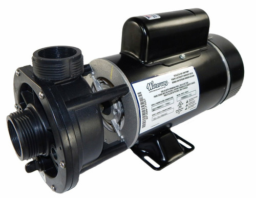 3410410-15 Waterway |  1 hp 115V 1-Speed Waterway Spa Pump Center Discharge