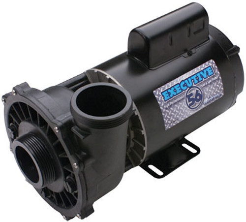 3722021-1D Waterway |  5HP 230V 2-Speed Waterway Spa Pump Side Discharge | 56 Frame Executive