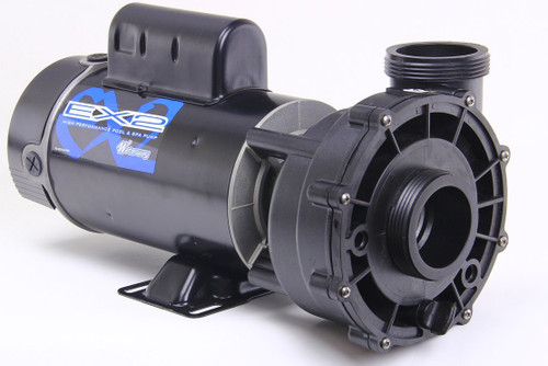 3720821-1W Waterway |  2 hp 2-Speed 230V Waterway Spa Pumps 56 Frame Aqua-Flo model EX2, XP2