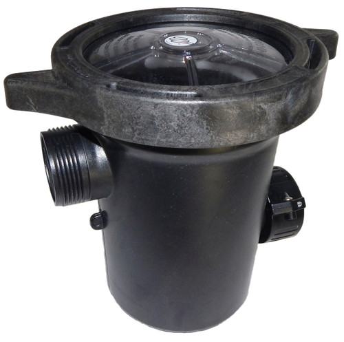 "310-5400 Waterway |  Center Discharge Debris Basket 1.5"" x 1.5"" Inlet/Outlet"