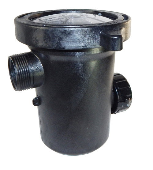 "310-6500 Waterway |  Side Discharge Debris Basket 1.5"" x 2"" Inlet/Outlet"
