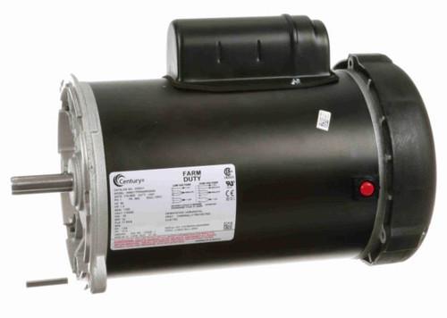 C333V1 Century 1 hp 1800 RPM 56N Frame TEFC 115/230V Auger Drive Motor