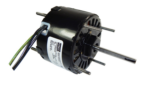 "Fasco D0540 Motor | 1/75 hp 1550 RPM 115V 3.3"" Dia. CW Rotation Nutone Bath Fan Motor"