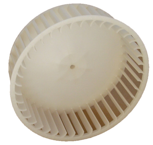 "6"" Plastic Blower Wheel 1/4"" Bore for Bath Fan # 5900RDC (5901A000)"