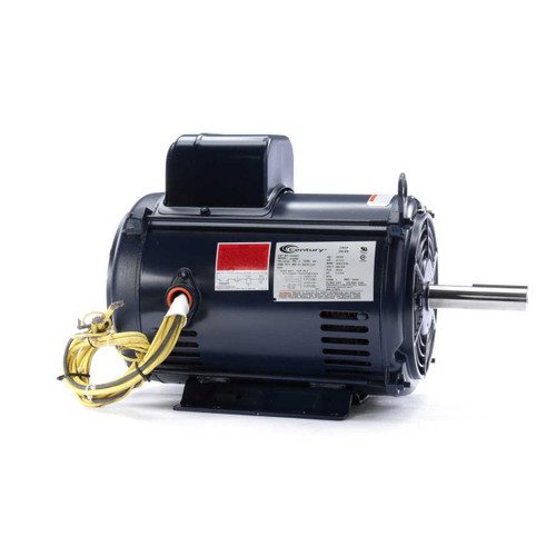 K320M2 Century 7.5-10.5 hp 3600 RPM 215TZ Frame 200/230V Crop Dryer Electric Motor