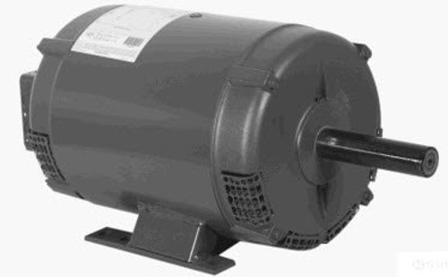 K321M2 Century 10-14 hp 3600 RPM 215TZ Frame 200/230V Crop Dryer Electric Motor
