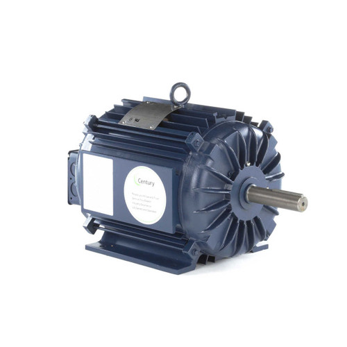 R327 Century 10-14 hp 3600 RPM 215TZ Frame TEAO 208-230/460V Crop Dryer Electric Motor