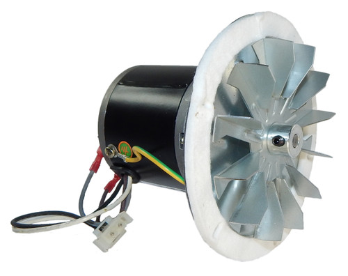 HB-RBM120 | Pellet Stove Blower Motor, 1/60 hp, 3000 RPM, 0.3 amps. 115V