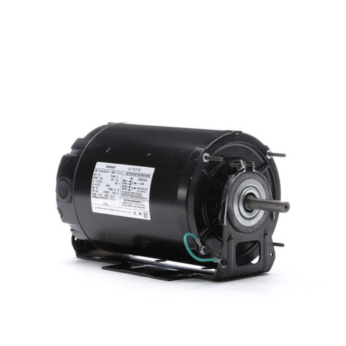 1/3 hp 1800 RPM 48Z Frame 230/115V Farm Building Belted Fan Century Electric Motor # F500L
