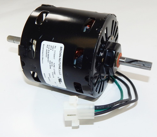 Broan 362 (JA2N153N) Replacement Vent Fan Motor # 99080151, 1.03 amps 1500 RPM 120V