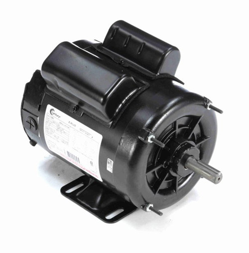 1/2 hp 1800 RPM 56 Frame 230/115V Farm Building Belted Fan Century Electric Motor # C580