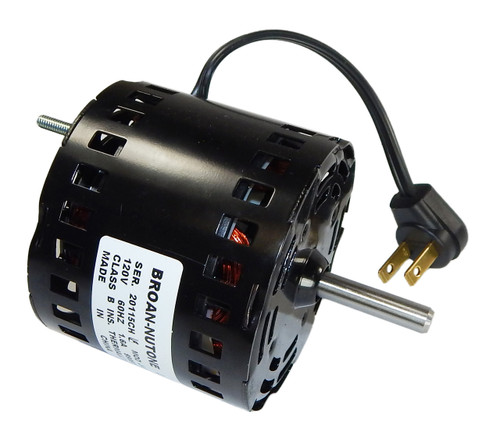 Broan Replacement Vent Fan Motor # 99080596, 1.6 amps, 1700 RPM, 120V