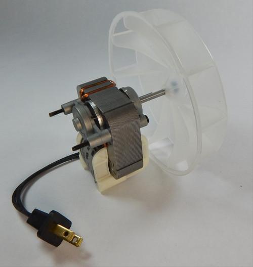 Broan 671, 671-A Fan Motor Motor & Blower Wheel 115V # 97008513