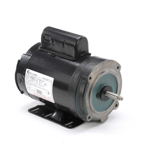 B585 Century 3/4 hp 3600 RPM 56HCZ Frame 208-230V Century Milk Pump Motor Century # B585