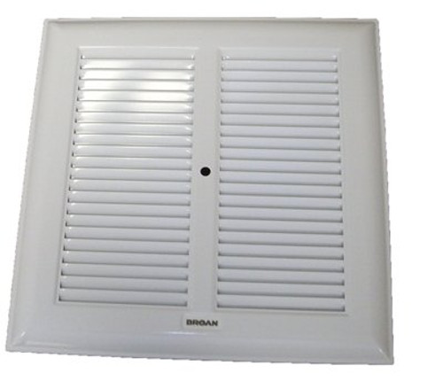 Broan White Metal Grille 315, 317, 660, 661, 662, 664, 665, 666, 668, 669 (97000650, 98002970) # 97011324