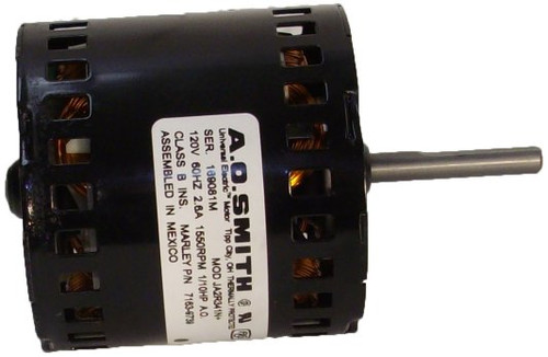 7163-9739 Qmark Marley Electric Motor 1550 RPM 2.6 amps, 120V