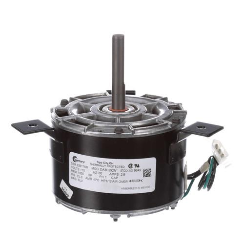Model 9649 Century Broan Fan Motor (99080178, DA3E278) 1/12 hp 1050 RPM 115V Century Motor # 9649