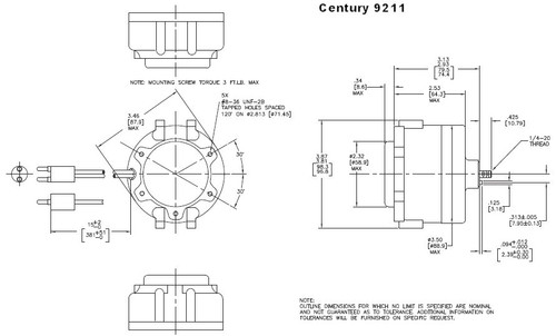 Hussman Refrigeration Motor 13 Watt 1725 RPM 115V ECM