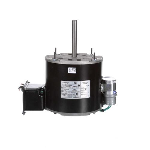 OHS9983 Century Hussman Refrigeration Motor 1/2 hp 1725 RPM 208-230V Century # OHS9983
