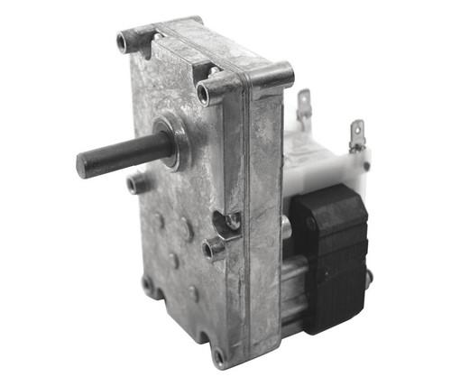 "Dayton Model 52JE12 Gear Motor 3/8"" Shaft 6 RPM CW 115V"
