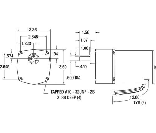 Dayton Wiring Diagram 4z519b 115v. . Wiring Diagram on