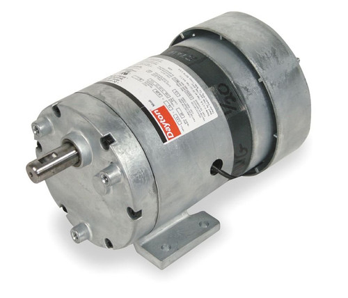 Dayton Model 1LPL9 Gear Motor 30 RPM 1/20 hp 115V (3M128)
