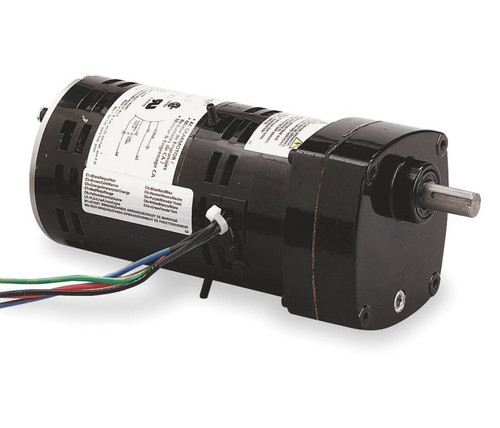 Dayton 2H596 Gear Motor 124 RPM Open Enclosure 1/10 hp 115V