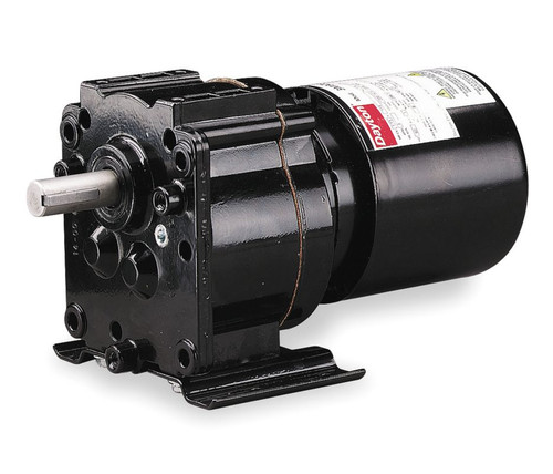 Dayton Model 3M327 Gear Motor TEFC, 6.1 RPM 1/40 hp 115 Volts 60HZ.