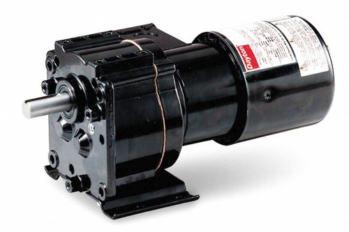 Dayton Model 2Z841 Gear Motor TEFC, 100 RPM 1/15 hp 115 Volts 60HZ.