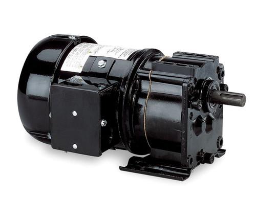 Dayton Model 6K331 Gear Motor TEFC, 60 RPM 1/6 hp 115V 60HZ.