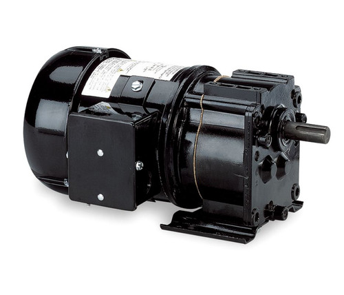 Dayton Model 6K334 Gear Motor TEFC, 135 RPM 1/6 hp 115V 60HZ.