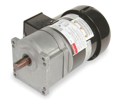 Dayton Model 1LPW8 Gear Motor 63 RPM 1/5 hp 115/230V (2H449)