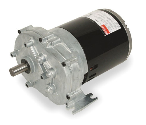 1LPP2 Dayton 1/4 hp 60 RPM 115V Dayton AC Parallel Shaft Gear Motor Model (5K940)