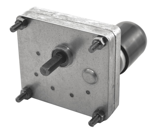 Dayton Model 2L004 DC Gear Motor 1.5 RPM 1/900 hp 12VDC