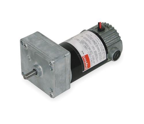Dayton Model 1LPV5 DC Gear Motor 24 RPM 1/30 hp 12VDC (1L477)