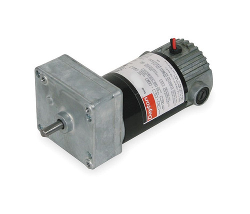Dayton Model 1LPW2 DC Gear Motor 21 RPM 1/30 hp 90VDC (4Z536)