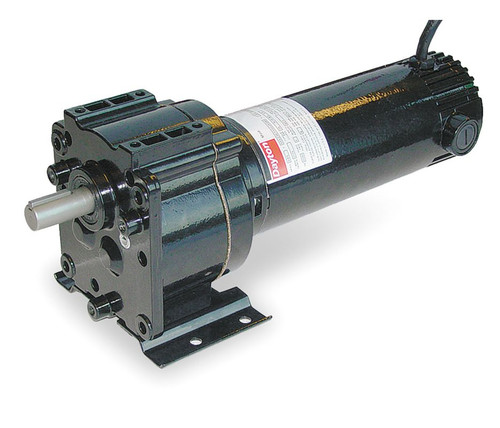 Dayton 1Z824 DC Gear Motor 50 RPM 1/6 hp 12VDC
