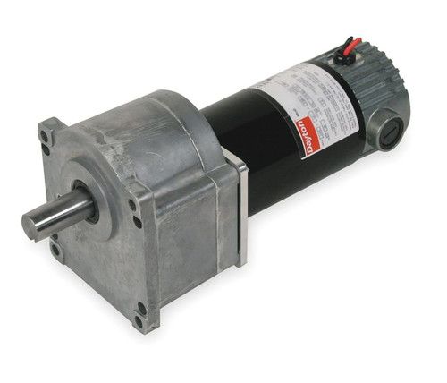 Dayton Model 1LPY3 DC Gear Motor 12 RPM 1/10 hp 90VDC (2H457)