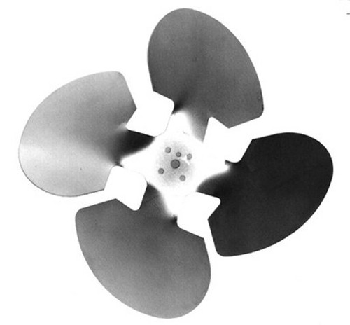 "Model 2267 Century Unit Bearing Aluminum Fan Blade 9 & 16 Watt, 10"" Diameter, Suction # 2267"