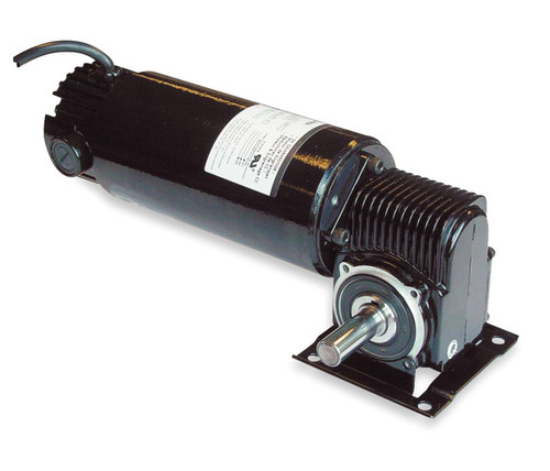 Dayton Model 3XA83 DC Gear Motor 360 RPM 1/4 hp TENV 90VDC