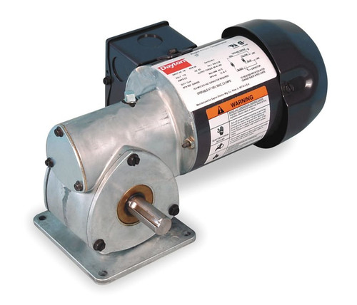 Dayton Model 1XFZ3 Gear Motor 173 RPM 1/8 hp TEFC 115V