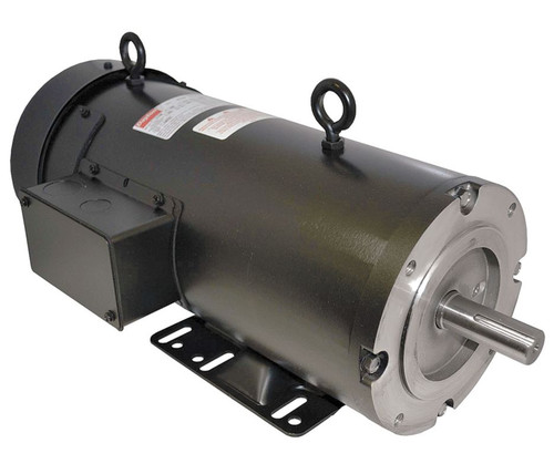 1.5 hp 1750 RPM 143/145TC Frame 180V DC Dayton Electric Motor Model 4Z379
