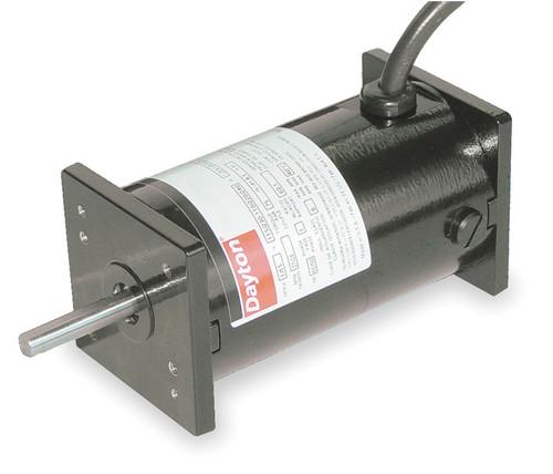DC TENV Motor 1/44 HP 800/4300 RPM 12/24VDC Dayton Model 3XE19